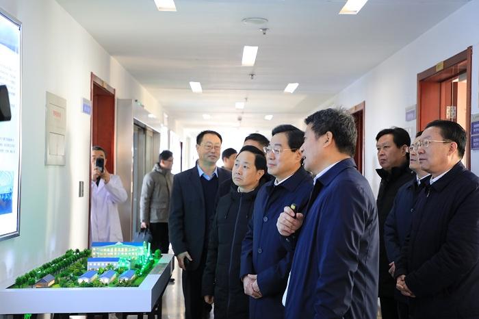 省委副书记杨东奇到我所视察